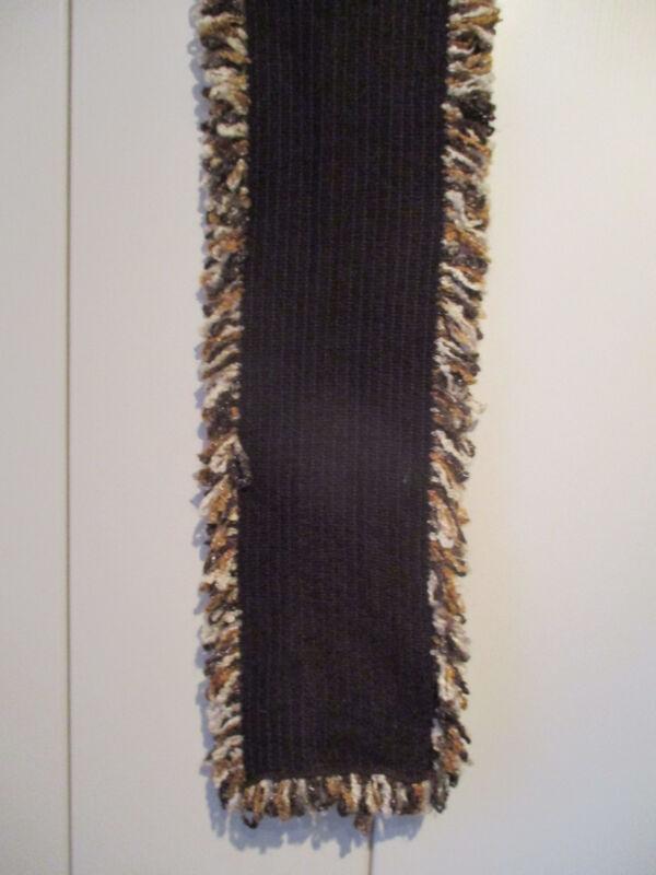 Schöner Brauner Schal 150x26 Cm