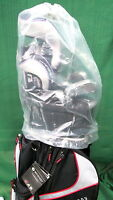 Rain Hood For Golf Bags new Transparent Hood With Pull Tie Closure System