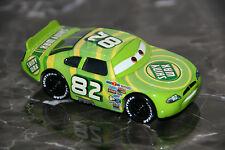 "DISNEY PIXAR CARS ""#82 SHINY WAX"" HARD PLASTIC TIRES, LOOSE, SHIP WW"