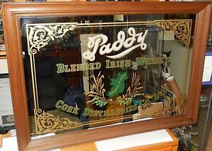 Paddy Blended Irish Whisky Cork Distilleries Co Ltd Huge