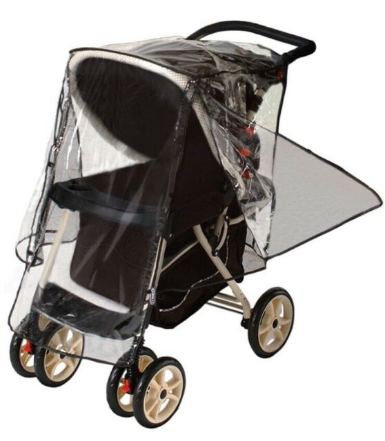 Jeep Deluxe Stroller Weather Shield Rain Cover Baby Single ...