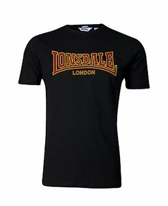 Schwarz Classique T Black shirt Fit London Slim Lonsdale pa0w7x0