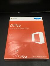 Microsoft Office Home and Student 2016 Windows English PC Key Card 79g-0458 (50