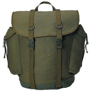 Bw-German-Military-Mountain-Rucksack-Army-Backpack-Hiking-Pack-25L-Olive