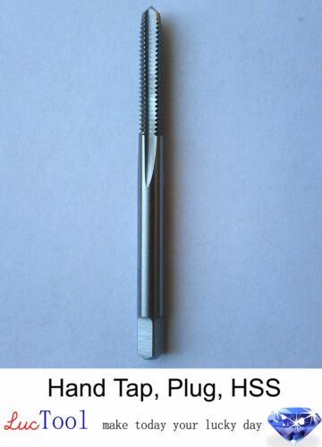8-32 UNC Hand Tap Plug GH3 Limit 4 Flute HSS Plug Chamfer Uncoated Bright Thread