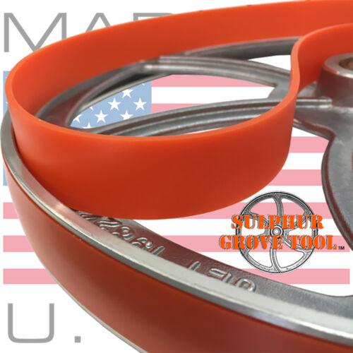 "Craftsman 11324201 12/"" Urethane Band Saw Tires rplc 2 OEM parts 41815 USA Made"