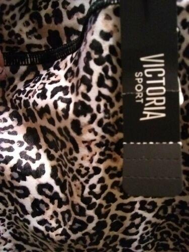 Large Victoria secret sport  New  Bike Short leopard V.S Women high rise
