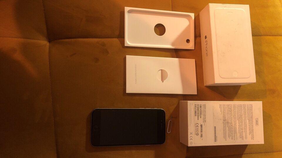 iPhone 6, 128 GB, grå