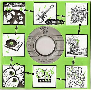 "THE PENETRATORS - Teenage Lifestyle  45 7"" 2007 release"