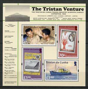 Tristan-da-Cunha-2018-MNH-Tristan-Venture-70th-Anniv-4v-M-S-Boats-Ships-Stamps