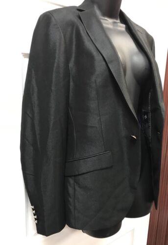 nuova taglia Giacca S Black metallizzata sbalorditiva Label xqXrX8S