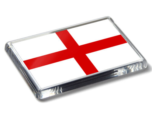 England St.Georges Kreuz Flagge National Farben Hochwertig Kühlschrank-magnet
