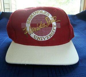 VTG-90s-Florida-State-University-Seminoles-NCAA-Garnet-amp-White-Hat-Size-7