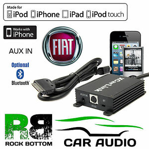 Fiat Panda 2004 2011 Car Radio Aux In Ipod Iphone Bluetooth Interface Cable Ebay