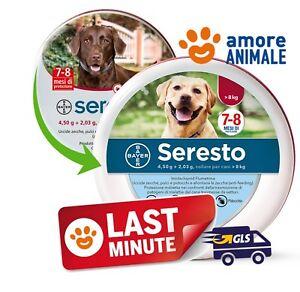 PROMO - Seresto Bayer Collare Antiparassitario oltre 8 kg per cani medio grandi