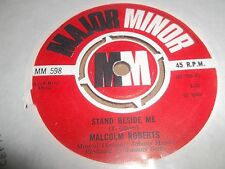 """MALCOLM ROBERTS """" STAND BESIDE ME """" 7"""" SINGLE 1969  MAJOR MINOR EXCELLENT"""