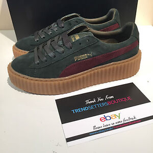 Puma Bordeaux Rood Creepers