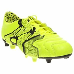 low priced 447c8 72415 Image is loading Adidas-X-15-1-FG-AG-Leather-Soccer-