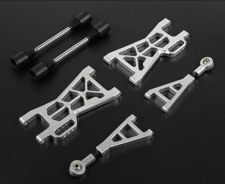 Aluminum rear extended suspension arm  + CVD for HPI baja 5b 5s 5T KM Rovan Baja  ci sono più marche di prodotti di alta qualità