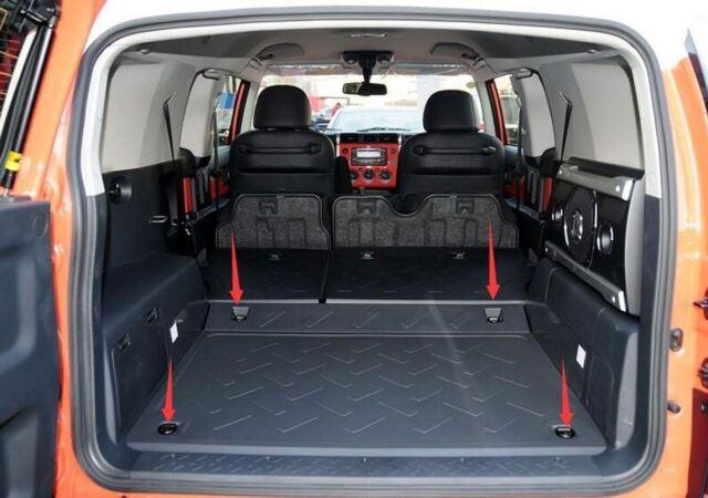 FLOOR STYLE TRUNK CARGO NET FOR Toyota FJ CRUISER 2007-2014 07-14 12 & Floor Style Trunk Cargo Net for Toyota FJ Cruiser 2007-2014 07-14 12 ...
