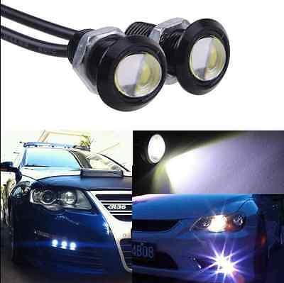 10X 9W LED DRL Eagle Eye Light Car Auto Running Signal Lamp White 12V