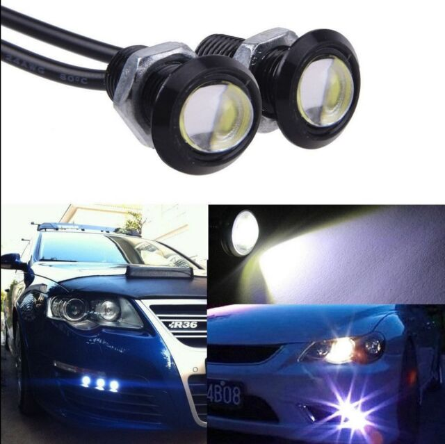10X 9W LED DRL Eagle Eye Light Car Auto Running Signal Lamp White 12V