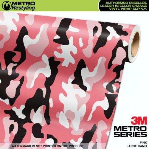 Car & Truck Graphics Decals LARGE PINK Camouflage Vinyl Car Wrap ...