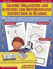 Graphic Organizers and Activities for Differentiated Instruction in Reading : Gr