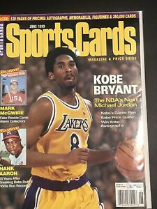 June-1999-Sports-Cards-Magazine-With-Kobe-Bryant-On-Cover