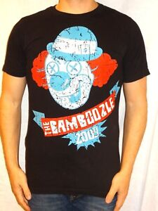 The-Bamboozle-2009-Tour-Tultex-Cotton-Black-Graphic-Tee-Small