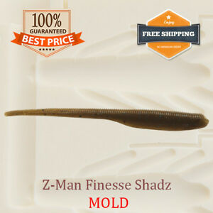 Finesse-ShadZ-Shad-Bait-Mold-Fishing-Soft-Plastic-Lure-100-175-mm
