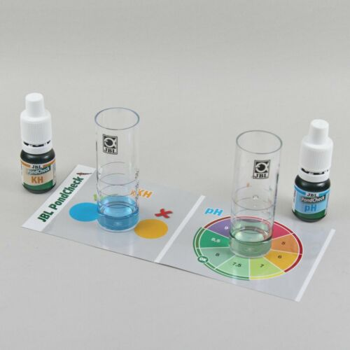 JBL Pond Check Test Kit Health Check Garden PH KH Testing Fish Koi Goldfish