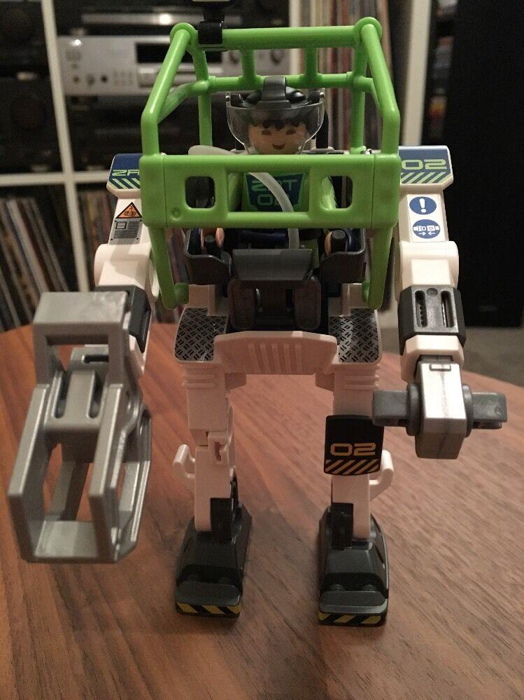 reduced Playmobil Future Planet E-Rangers Collectobot Construction Set 515