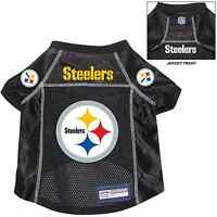 Pittsburgh Steelers Pet Dog Premium Nfl Alternate Jersey W/name Tag
