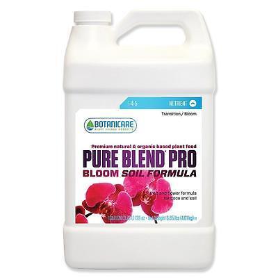 Botanicare PureBlend Pro Bloom Soil Formula 1 Gallon - base nutrient