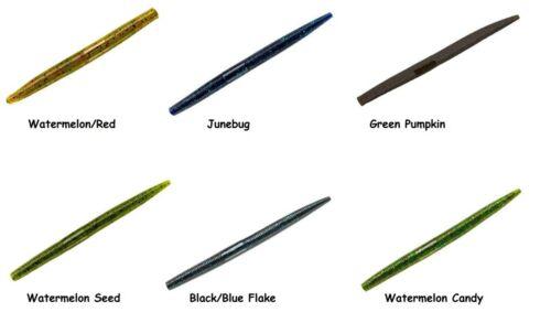 "Choice of Colors YUM 5/"" Dinger Soft Stickbait"