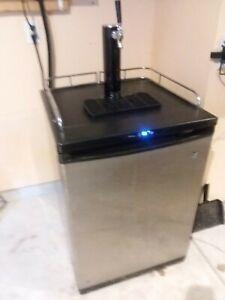 used beer kegerator refrigerator