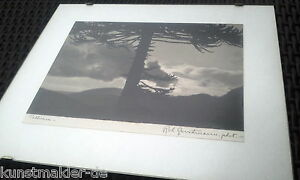 Robert-GERSTMANN-1896-1964-signed-amp-titled-Photograph-Chile-Tolhuaca