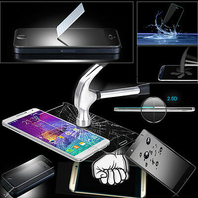 Front+Back Genuine Tempered Glass Film Screen Skin for Sony Xperia Various Phone