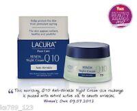 2 Lacura Moisturising Anti-wrinkle Q10 50ml Night Cream Moisturiser