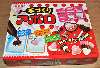 Apollo, DIY Kit, Japan Snack/Candy, Meiji, 1 Box, Easy and fun!