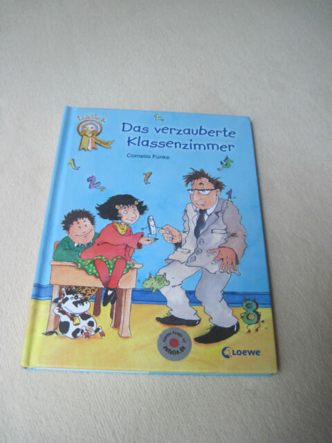 "Loewe-Leseleiter ""Das verzauberte Klassenzimmer"", 2. Lesestufe, wie NEU,"