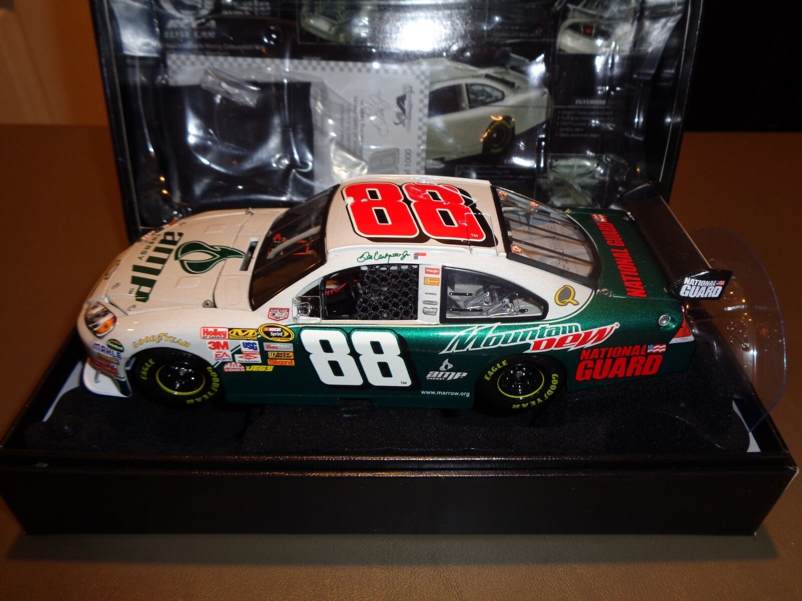 RCCA Elite 1 24 Die Cast Dale Earnhardt Jr.  88 Ride Along With Junior Amp Car