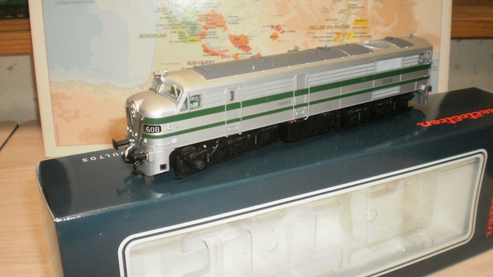Loco diesel de ligne 1608 Renfe électrotren