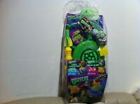 ( ) Ninja Turtles Fun Pack Basket Set W/ Jelly Bean For Kids Party Gift