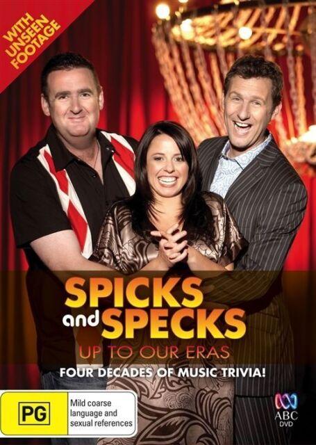 Spicks And Specks - Up To Our Eras (DVD, 2009)