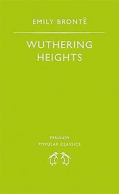 """AS NEW"" Wuthering Heights (The Penguin English Library), Brontë, Emily, Book"