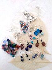 KIT per fare gioielli budget rende 15 Paia Orecchini Pietra preziosa Perline reale 2017