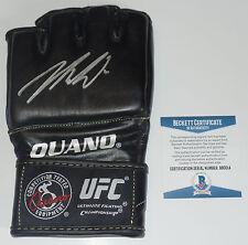 NICK DIAZ SIGNED AUTO'D UFC OUANO GLOVE BAS BECKETT COA STIKEFORCE ELITE XC 209
