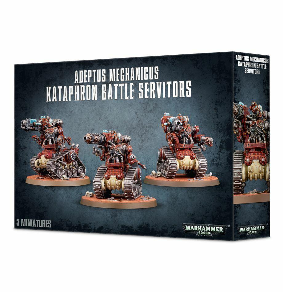Warhammer 40K  Adeptus Mechanicus kataphron batalla servitors 59-14